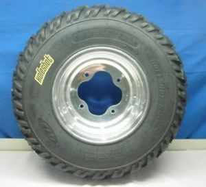 ITP Front Left Holeshot H D Tire and Wheel Kit 22 x 7 10