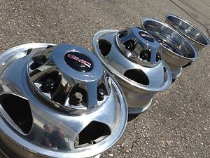 17 GMC Sierra Silverado 3500 Dually DRW Factory Chrome Wheels Rims 8x210