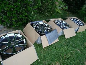 20 inch Saleen Chrome Rims Wheels Mustang Ford 5x114