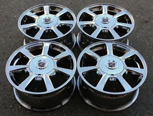 "Cadillac cts 17"" PVD Chrome Wheels Rims 2008 2009 2010 4623"