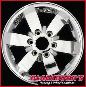 "08 09 10 11 12 Chevy Colorado GMC Canyon 17"" Chrome Clad Wheel Used Rim 5365"