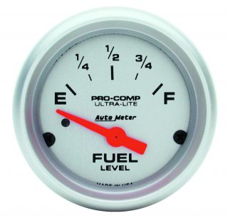 Auto Meter 4314 Ultra Lite Electric Fuel Level Gauge