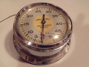 Old Antique Airguide Auto Marine Boat Speedometer Gauge