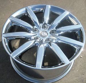 "19"" Factory Jaguar XK8 Chrome Wheel Rim 1 Single Rear Rim ""Atlas"" 59795"