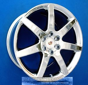 Cadillac cts V 18 inch Chrome Wheels Rims CTSV New