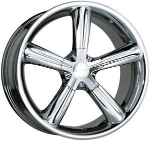 "18"" Chrome Stellar Wheels Rims 18x8 5 ET35 Audi TT Coupe VW Beetle 5x100 Only"
