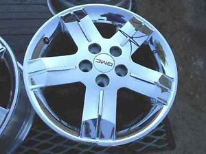 "2012 2013 GMC Terrain 18"" Chrome Alloy Wheel Rim"