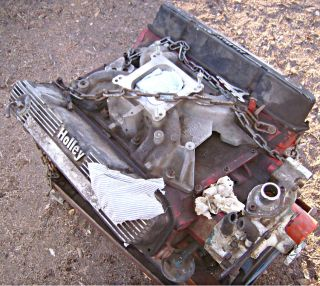 Dodge Chrysler Mopar 383 Engine Motor Dated 1965 Big Block Motor Engine