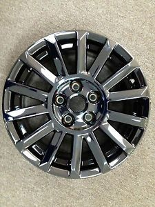 "Set of 4 New Black Chrome Cadillac cts 17"" Factory Wheels Rims 4668"