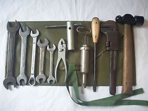 Vintage WW2 GPW Jeep Willys Ford MB Military Tool Kit WWII Barcalo Buffalo