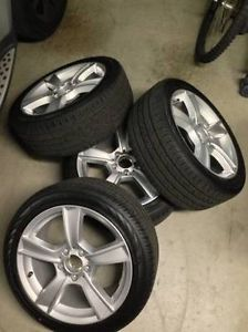 "17"" Mercedes Benz C250 C300 C350 Wheels with Continental Tires Brand New"