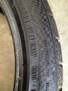 "2 18"" Used Tires 255 35 18 Continental Conti Sport Contact 3 90"