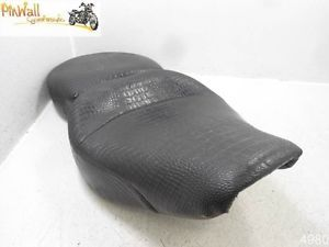 95 Harley Davidson Road King Touring FLHR Mustang Alligator Look Seat
