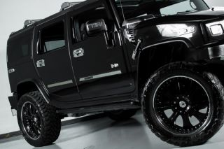 2006 Hummer H2 Custom Supercharged Navigation Chrome asanti Wheels