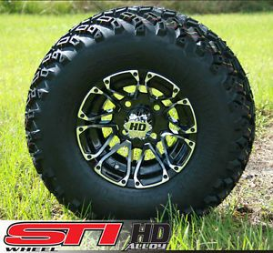 New 10x7 STI HD3 Golf Cart Wheels and All Terrain Tires