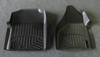 WeatherTech Digital Fit Black Front Floor Mats Liners 02 09 Dodge RAM 440121