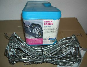 Peerless Light Truck SUV Cable Tire Snow Chains 0196555 Never Used
