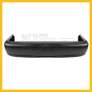 98 08 Crown Victoria Rear Bumper Facial Cover Raw Black Fascia Plastic No Primed