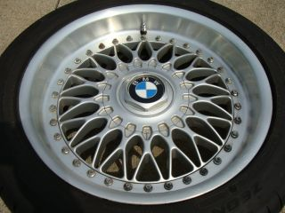 "BMW 17"" E39 BBs Wheels Rims Tires 525i 530i 528i 540i M5 E23 E28 E34 E38"