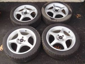 Ford Contour Ford Focus SVT 5 Spoke Rims BF Goodrich G Force Sport 225 45 ZR17