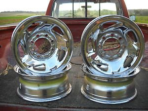 Dodge 4x4 Chrome Rims 8 Hole 16 Inch