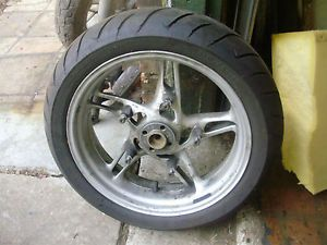 BMW Motorcycle RT1150 Police Rear Wheel w Dunlop Tire