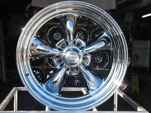 17x8 Chrome American Racing VN815 Wheels Rims 5x4 75 5x4 3 4 Hot Rod Chrome