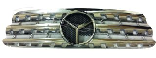 Mercedes ml W163 Front Grille Chrome Fits All ml from 1998 to 2005