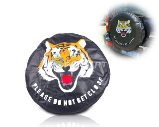 "New Universal 28"" 29"" 30"" Spare Wheel Tire Tyre Soft Cover Tiger"