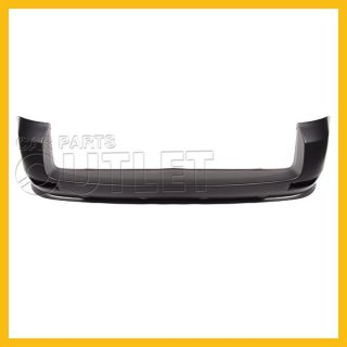 2006 2012 Toyota RAV4 Rear Bumper Cover TO1100242 Primered Base Wo Gated Spare