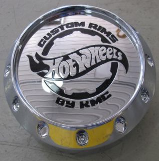 Hot Wheels 905K131 Custom Rims Chrome Snap on Wheel Center Hub Cap by KMC