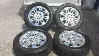 "2013 20"" Ford F150 Expedition Platinum Wheels 275 55 20 Pirelli Tires"