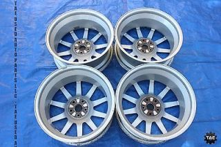 2004 Subaru WRX STI 17x7 5 53 BBs Wheels Rims Set 4 5x100 EJ257 GD7 2196