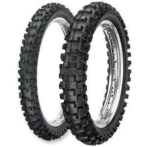New Dunlop Front Rear Tires Set 90 100 21 120 80 19 Geomax MX51