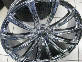 "24"" Gianelle Cuba 12 Wheel Tire Dub 28 Forgiato asanti Lexani Giovanna Diablo"