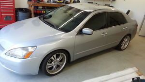 2003 Honda Accord LX Custom Wheels Rockford Fosgate Custom Car Stereo System