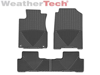 Weathertech® All Weather Floor Mats Honda CR V 2012 2014 Black