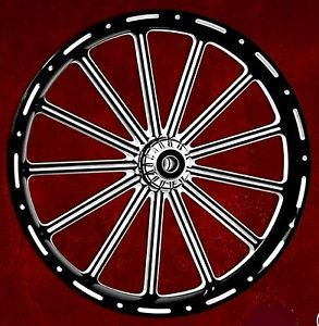 "Custom Rims 21"" Wheel Package for Harley"