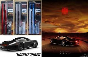 Knightrider Knight Rider Kitt Kit LED Alarm Neon Strobe Red Scanner Car Lights
