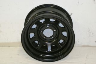 1 Black Rock 942 D Window Wheel 15x8 5x4 5 87 06 Jeep Wrangler YJ TJ XJ