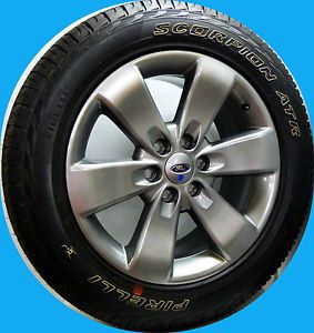 "2012 Ford F150 FX2 FX4 Expedition 20"" Wheels Rims Pirelli Tires New Take Off"