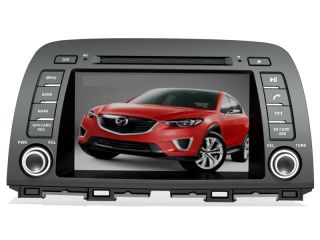 "8"" 2 DIN Car DVD Player GPS Navi Headunit Radio Stereo for New Mazda CX 5 2012"