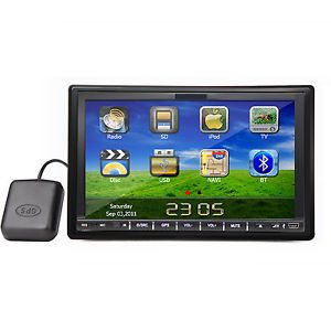 Double DIN Car Stereo Navigation