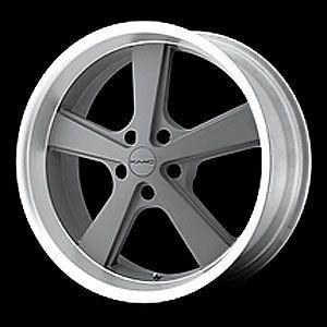 American Racing 70128534400 Nova Series 701 Gray Wheel