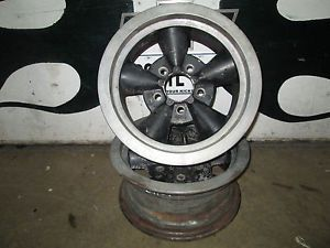 Vintage American Racing 14x6 Mag Wheels Chevy Drag Gasser Torque Thrust