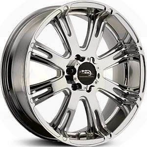 American Racing AR 708 20 x 9 6 x 135 0 Offset Chrome 1 Wheel Rim