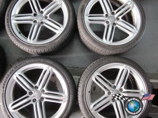 07 11 Audi A6 S6 Factory 19 Wheels Tires Rim 58877 255 35 19 Pirelli