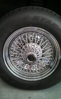 RARE American Racing Wire Wheels