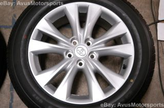 "New 2014 Toyota RAV4 18"" Factory Wheels Tires Tacoma 2WD 2013 2012 2011"