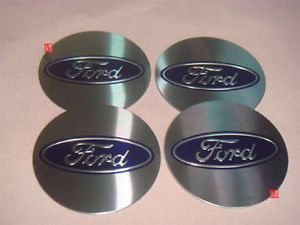 4pcs Ford Car Logo Wheel Center Cap Decal Stickers Emblem Badge Diameter 55mm